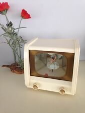 Baby TV  with Ballerina and Lights Music box, Vintage