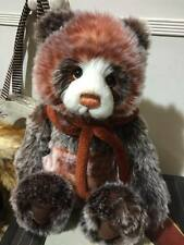 Charlie Bears - DIXIE Plush Collectors Bear!  BRAND NEW 2015 COLLECTION!!