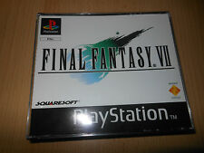 Final Fantasy VII 7 game PS1 Playstation 1.MINT COLLECTORS