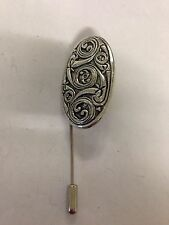 G36 Celtic Shied   english pewter Motif on a tie stick pin hat scarf collar