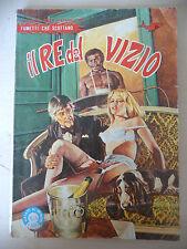 IL RE DEL VIZIO N°7 1982 - I NOBEL DEL FUMETTO erotico A7