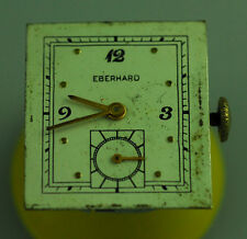 VINTAGE EBERHARD MENS MANUAL WIND WRIST WATCH MOVEMENT - RUNS – ETA 1000