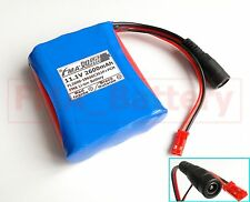 SANYO Li-ion 18650 11.1V 2600mAh Battery Pack 3cells to 3S1P With PCM & Plug US
