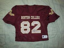 Vintage 1980s BOSTON COLLEGE EAGLES Football 82 HALF Jersey Champion Men's Large