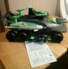 HAMMERHEAD W/ ACESSORIES  1990 GI JOE COBRA VINTAGE ORIGINAL W/ BLUEPRINTS