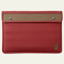 Timberland Unisex Natick Water-Resistant Red Cotton Laptop Sleeve Style A11UG