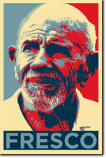 JACQUE FRESCO ART PHOTO PRINT (OBAMA HOPE) POSTER GIFT THE VENUS PROJECT