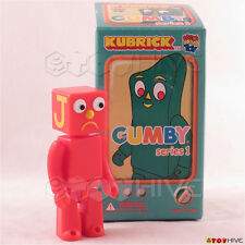 Kubrick Gumby - Blockhead J figure with box made by Medicom Toy
