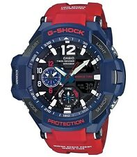 Casio GShock * G-Aviation GravityMaster GA1100-2A SkyCockpit Red Blue COD PayPal