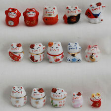 10 giapponesi LUCKY fortuna Perline Gatto maneki neko Pick & Mix