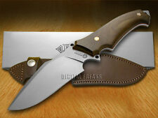 BOKER TREE BRAND Guayacan Ebony Wood Arbolito Buffalo Soul II Fixed Blade Knives