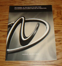 Original 1996 Oldsmobile Aurora Sales Brochure 96