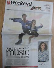 Torvill & Dean - Weekend – The Daily Telegraph – Saturday 8 February 2014