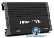 SOUNDSTREAM AR4.1200D 4-CHANNEL 1200W COMPONENT SPEAKERS TWEETERS AMPLIFIER NEW