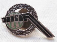 Insigne de boutonnière AVIATION 5000 HEURES DE VOL PILOTE PILOT WING PIN BADGE