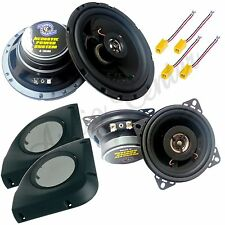 KIT A5 ALTOPARLANTI FIAT PUNTO 99   04 CASSE 2 VIE 165mm + 100mm ANT+POST