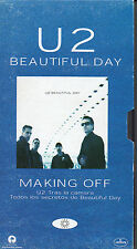 "U2 ""BEAUTIFUL DAY - MAKING OFF"" RARE SPANISH PROMOTIONAL VHS / BONO - THE EDGE"