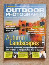 Outdoor Photography Nov 2006 Issue 80 Autumn Landscapes|Sony alpha100