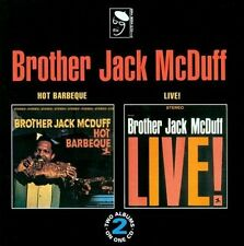 Brother Jack McDuff-Hot Barbeque/Live At The Front Room CD NEW