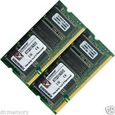 Kit Mémoire Ram 1go (2x512mo) Ddr-266 Pc2100 Portable (sodimm) 200 Broches