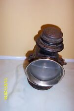 """Vintage DIETZ OCTO Kerosene Driving Lamp  Clear and Red Lens 10"""""""