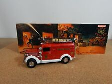 Matchbox models of Yesteryear YFE10 1937GMC Rescue Squad Van 1993 model