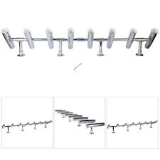 8 Tube Rotated 360 De Adjustable Stainless Rocket Launcher Rod Holders