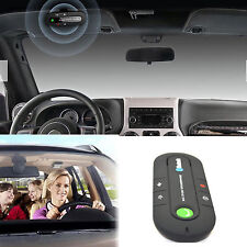Multipoint Bluetooth Speaker Handsfree Car Kit Speakerphone w Mic for Smartphone