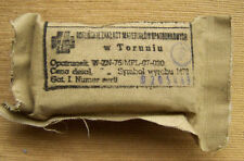 PERSONAL DRESSING Polish ARMY FIRST AID Poland equipment Warsaw PACT , moro time