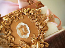 handmade Silicone Mold /Cake Decoration Mould/Baroque mold 456