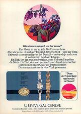 Universal-Geneve-1969-Reklame-Werbung-vintage watch-print ad-Publicidad Reloj