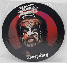 King Diamond Conspiracy UK 1989 Roadrunner Picture Disc RR 9461 6