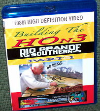 "20133 BLU-RAY HD VIDEO ""BUILDING THE HOn3 RIO GRANDE SOUTHERN"" VOL. 1"