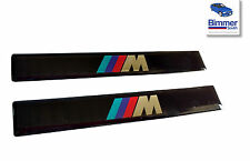 PAIR BMW M5 540 528 e39 Door Side Moulding Motorsport Emblem Badge 51132496165