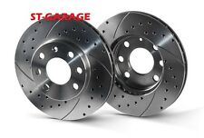 VOLKSWAGEN GOLF 4 Front Brake Discs SLOTTED/PERFORATED 256 mm