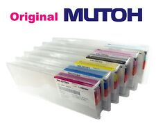 6 Original Tinte Mutoh ValueJet 1304 1324 1614 1624 1638 Eco Solvent Ultra INK