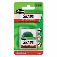 Slime Skabs Glueless Bike,cycle Innertube Puncture Repair Patches Self Adhesive