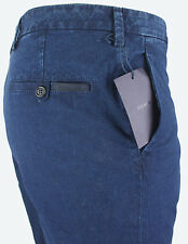 NEWT100%AUTH BEAUTIFUL PRADA DENIM JEANS FLATFRONT PANTS IT 54 38