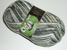 Opal Sockenwolle Regenwald XI Der Doppelagent 8974 grau beige schwarz creme
