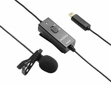 Movo GM300 Deluxe External Lavalier Condenser Microphone for GoPro HERO 3 3+ 4