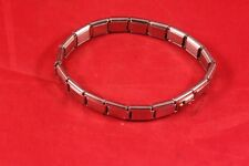 "Nice 2.5"" Chrome Plastic Stretch Fashion Bangle Bracelet RealEstate Promo ""Sold"""