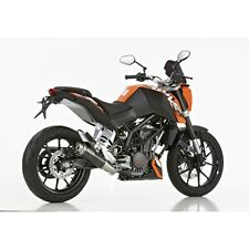 KTM 125 Duke SHARK-Anlage Factory Carbon- Endtopf mit EG/BE