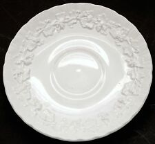 Wedgwood Embossed Grapevine Cream Etruria Barlaston Queensware Saucer