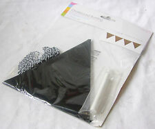 NEW CHALKBOARD BUNTING KIT WITH CHALK PERSONALISE FOR ANY OCCASION! SIL