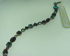 Sorrelli Northern lights Bracelet BAQ3ASNL antique silver tone