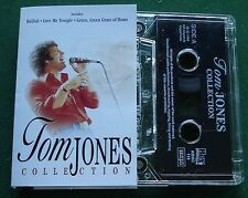 Tom Jones Collection Live inc Delilah & Love Me Tonight + Cassette Tape - TESTED