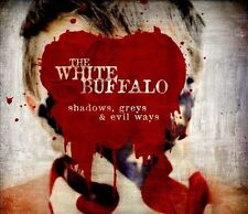 Shadows, Greys & Evil Ways [Digipak] by The White Buffalo (CD, 2013, ADA)