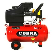 NEW COBRA 24L LITER ELECTRIC AIR COMPRESSOR 9.6CFM 2.5HP 230V 115PSI PORTABLE