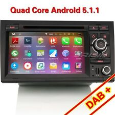 "7"" HD Quad Core Android 5.1 Car DVD Player FOR AUDI A4 S4 RS4 B7 B9 DAB+ 4028CU"