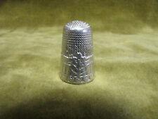 Dé a coudre argent (800 sanglier) cannelures st LXVI (800 silver thimble) d20